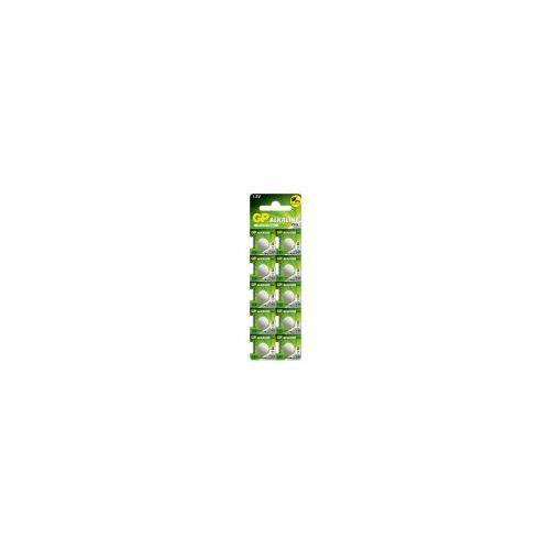 10 x bateria alkaliczna mini GP 189 / G10 / LR54, 189F-U10