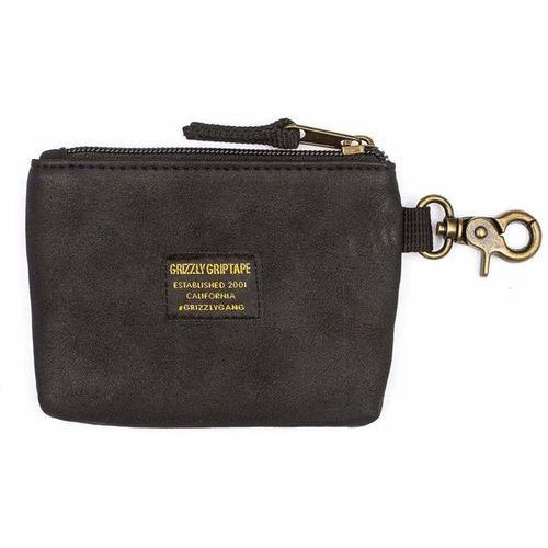 portfel GRIZZLY - Ggc Wallet Pouch Blk (BLK)