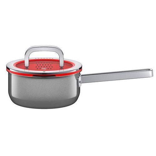 Wmf - rondel fusiontec functional 16 cm, platynowy - czerwony ||srebrny ||platynowy