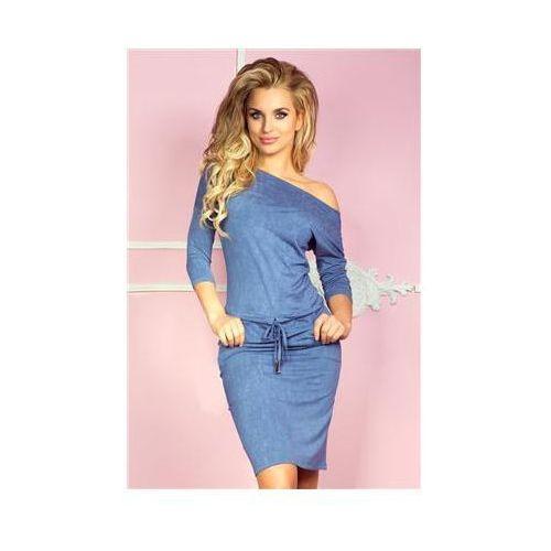 Sukienka Model 13-20 Jeans Light Blue, kolor niebieski
