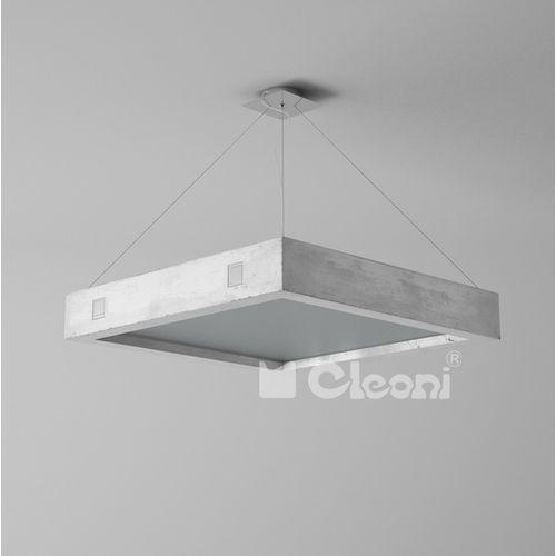 1770/betm lampa wisząca betonowa geo 500 marki Cleoni