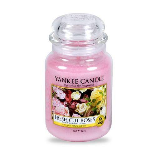 fresh cut roses 623 g świeczka zapachowa marki Yankee candle
