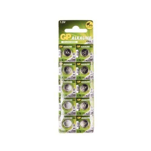 GP Battery do zegarków LR44 blister 10szt. (A76F-U10) Darmowy odbiór w 21 miastach! (4891199015496)