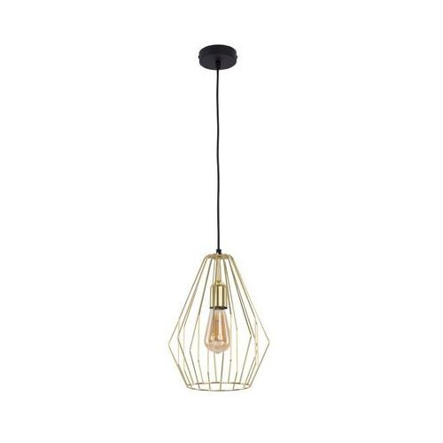 TK Lighting Brylant Gold 2788 Lampa wisząca zwis 1x60W E27 złoty/czarny (5901780527884)
