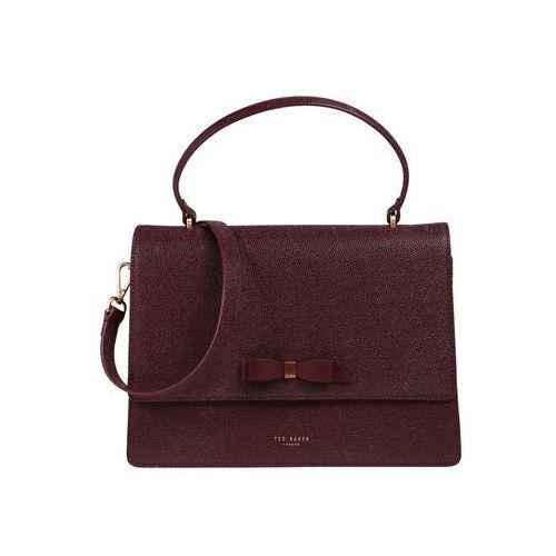 Ted baker torebka 'joaan bow detail lady bag' kasztanowy / krwistoczerwony (5057930257191)