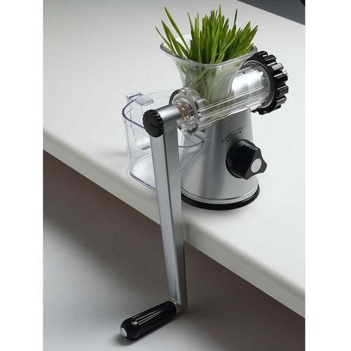 Lexen Ręczna wyciskarka soku healthy juicer 3g srebrna - model 2013