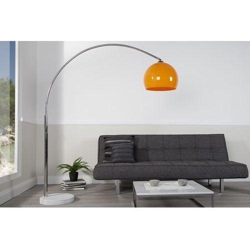 Interior Lampa podłogowa murano 170-205cm (pomarańcz) - pomarańczowa