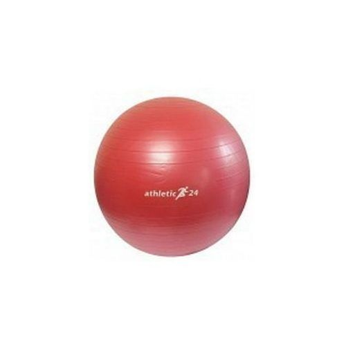 Athletic24 antiburst 45 czerwona - piłka fitness - czerwony
