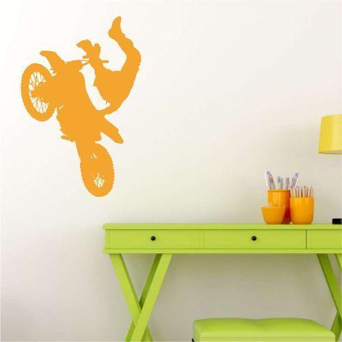 Wally - piękno dekoracji Motokross szablon malarski 2311