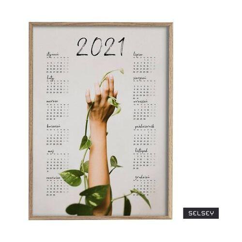SELSEY Kalendarz Nisers 50x70 cm z wyborem ramy (5903025472072)