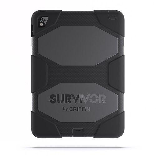 "Griffin survivor all-terrain - pancerne etui ipad pro 9.7""/air 2 (czarny) (0685387426607)"