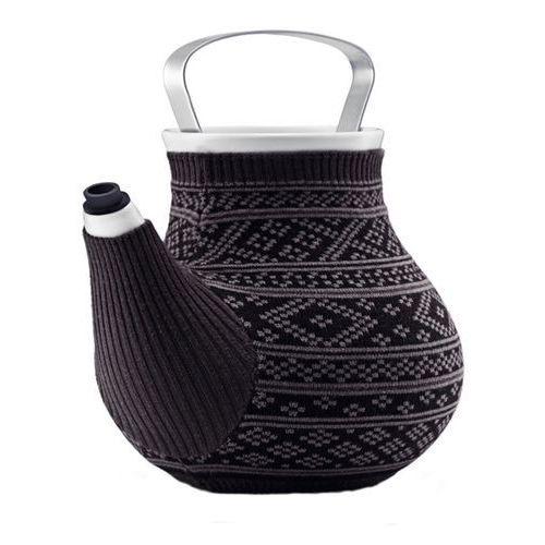 Imbryk do herbaty 1.5l Eva Solo My Big Tea szary ze wzorem, 567414