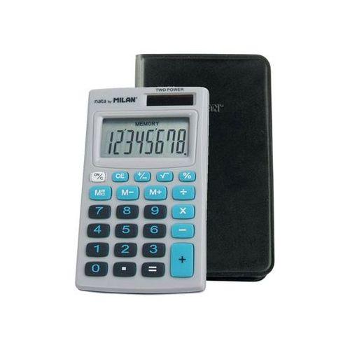 Kalkulator 8-pozycyjny szaro-niebieski (8411574027836)