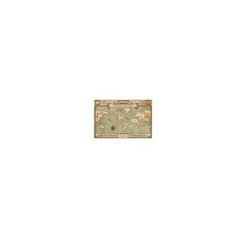 Gf Fantastyczne zwierzęta i jak je znaleźć mappa mundi - plakat (5050574338929)