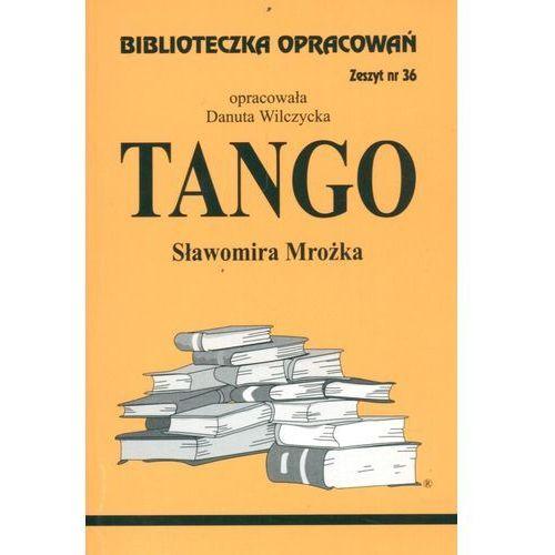 Biblioteczka Opracowań Tango Sławomira Mrożka, oprawa miękka