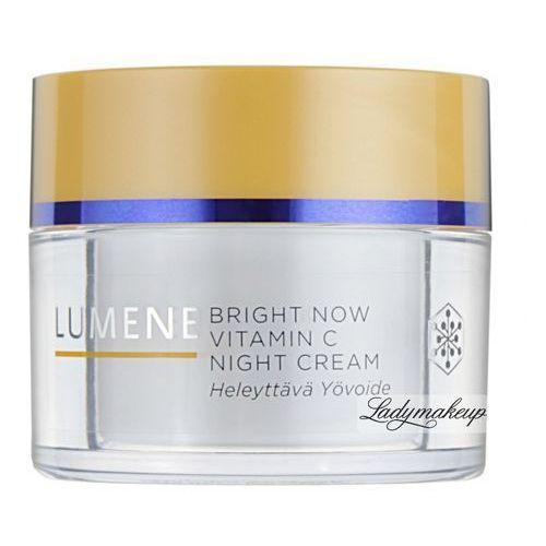LUMENE - BRIGHT NOW - VITAMIN C NIGHT CREAM - Rozświetlający krem na noc (każdy typ cery) - REF. 80142 - produkt z kategorii- Kremy na noc