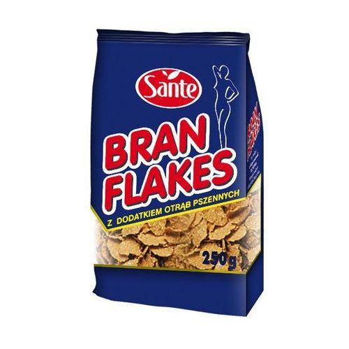 Sante Płatki bran flakes z dodatkiem otrąb pszennych 250 g. Najniższe ceny, najlepsze promocje w sklepach, opinie.