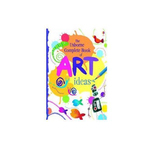 Usborne Complete Book Of Art Ideas Reduced Spiral Bound, Watt, Fiona
