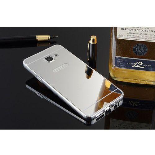 Mirror Bumper Metal Case Srebrny | Etui dla Samsung Galaxy A3 (2016) - Srebrny, kup u jednego z partnerów