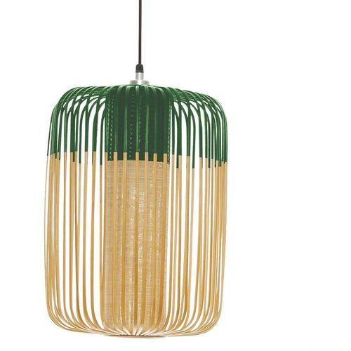 BAMBOO-Lampa wisząca zewnętrzna Bambus Wys.50cm