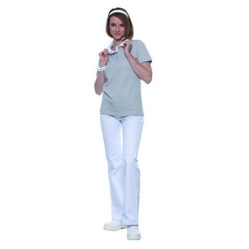 Koszulka damska typu polo, rozmiar xxl, jasnoszara | , leonie marki Karlowsky