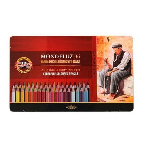 Kredki akwarelowe Koh-I-Noor Mondeluz 3725 36kol. - produkt z kategorii- Kredki
