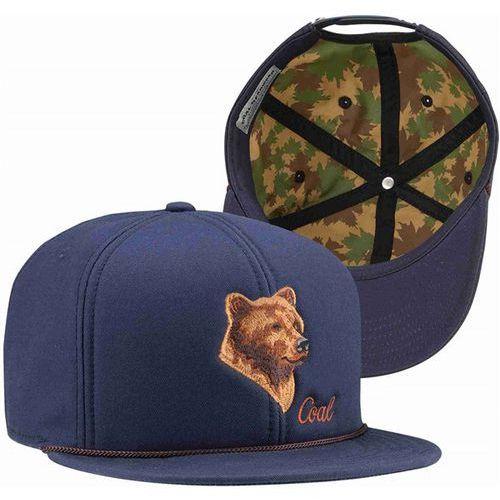 czapka z daszkiem COAL - The Wilderness SP Navy (Bear) (02) rozmiar: OS, kolor niebieski