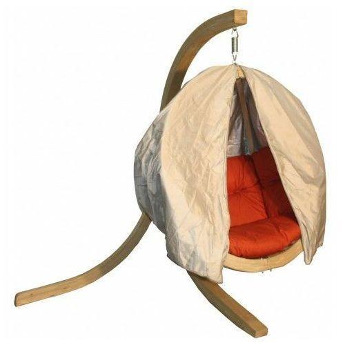 Beżowy pokrowiec na fotel ogrodowy - parys 2x marki Producent: elior