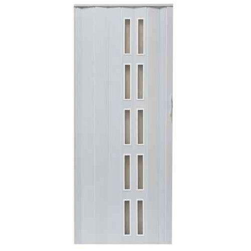 Drzwi Harmonijkowe 005S 49 Biały Dąb Mat 90 cm, GK-0137