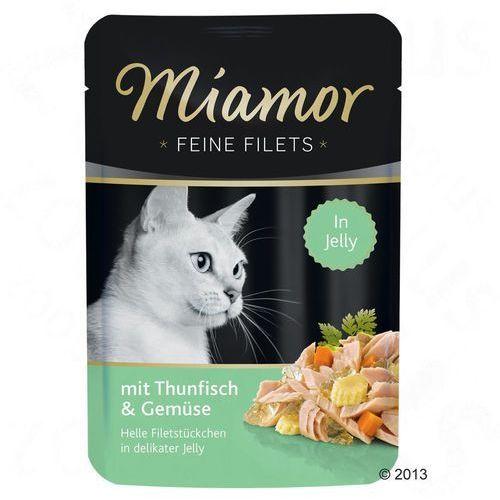 feine filets tuńczyk z warzywami - saszetka 24x100g marki Miamor