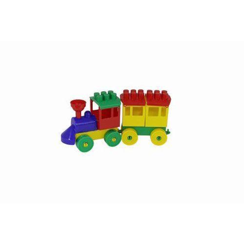 Polesie poland Zestaw - lokomotywa z 1 wagonem