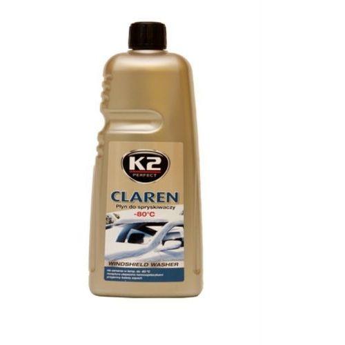 Płyn zimowy do spryskiwaczy K2 Claren -80°C koncentrat 1 Litr
