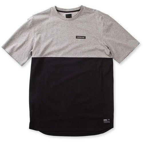 koszulka SUPRA - Block Ss Crew Heather Grey/Black (022) rozmiar: L