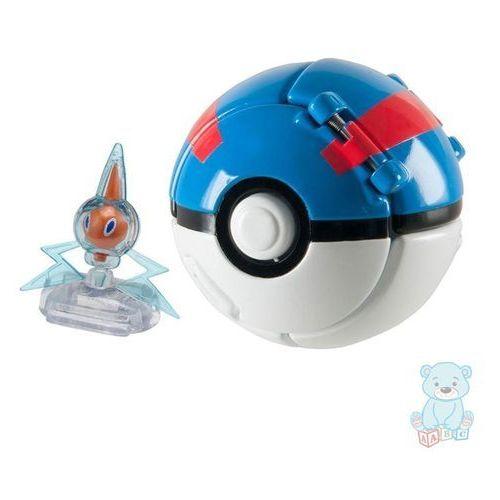 Tomy Pokemon rotom i automatyczny great ball