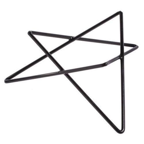 Podstawa bufetowa gwiazda niska czarna marki Verlo