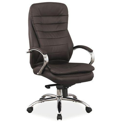 Signal Fotel biurowy q-154 brązowy