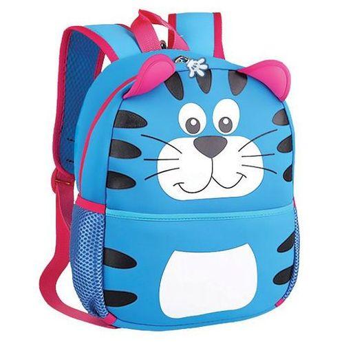 Spokey Plecak neoprenowy tygrys niebieski - (5902693204817)