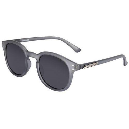 Okulary słoneczne - bank sunglasses clear charcoal (clear charcoal) rozmiar: os marki Santa cruz