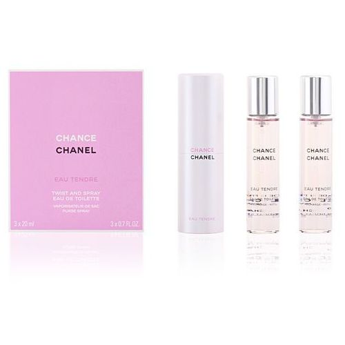 Chanel Chance Eau Tendre 3x20ml W Woda toaletowa