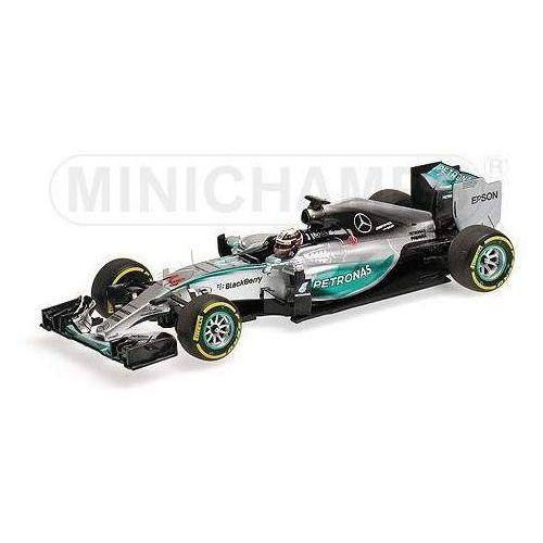 Minichamps Mercedes amg petronas f1 team w06 hybrid #44 lewis hamilton winner belgian gp 2015