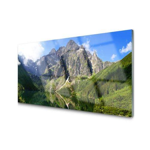 Obraz Akrylowy Tatry Góry Morskie Oko Las
