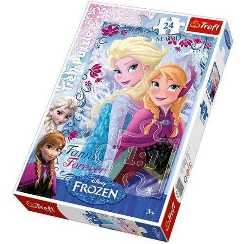 Puzzle 24 maxi siostry z Krainy Lodu