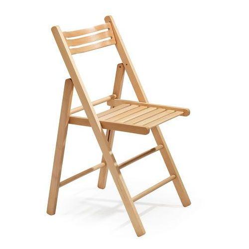Krzesło składane EDINBURGH, drewniane, buk, 113212