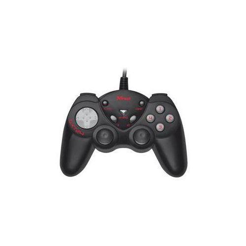 Gamepad  gxt 24 compact pro pc (17416) czarny/szary marki Trust