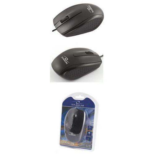 Titanum Mysz przewodowa , optyczna 3d, marlin, tm110k (5901299901816)