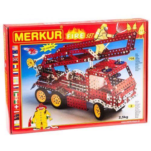 Merkur Modele RC Kit, FIRE Zestaw 20 modeli 708 szt - BEZPŁATNY ODBIÓR: WROCŁAW!