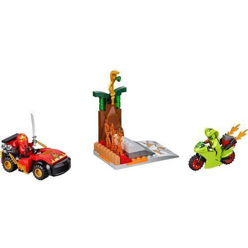 10722 - STARCIE Z WĘŻEM Snake Showdown - KLOCKI LEGO JUNIORS