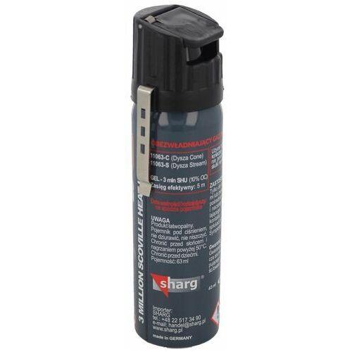 Gaz pieprzowy sharg graphite gel 3mln shu 63ml cone (11063-c) marki Sharg products group