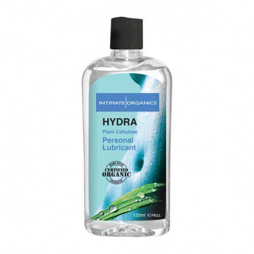 Wodny środek nawilżający -  hydra water based lube 240 ml wyprodukowany przez Intimate organics