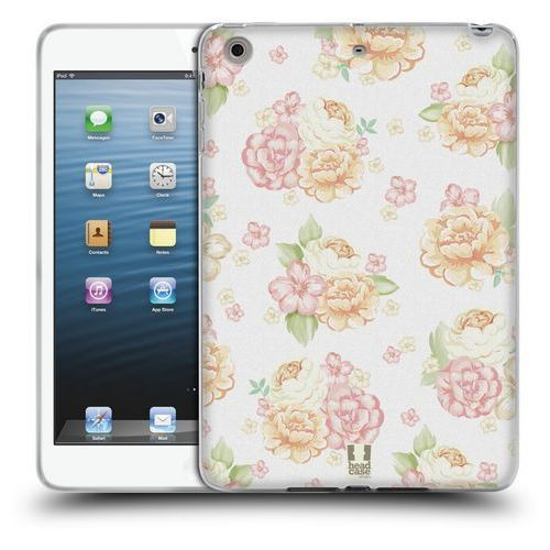 Etui silikonowe na tablet - French Country Patterns WHITE